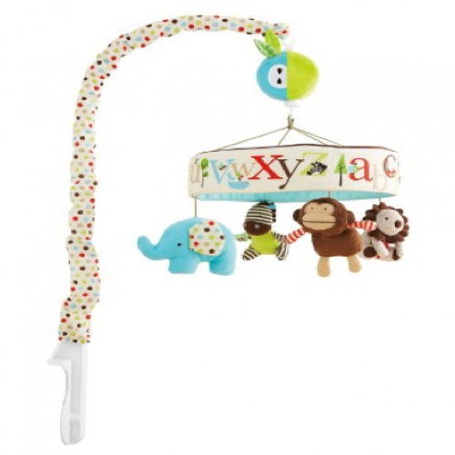 Skip Hop Alphabet Zoo Musical Crib Mobile Toy