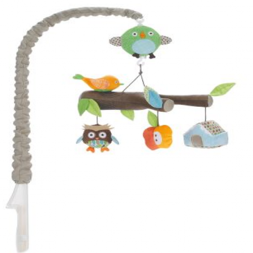 Skip Hop Treetop Friends Forest Musical Crib Mobile Toy