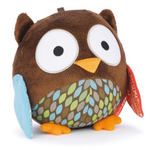 Skip Hop TreeTop Friends Wise Owl Chime Ball Toy