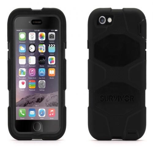 Griffin Survivor All-Terrain for iPhone 6 Black Black