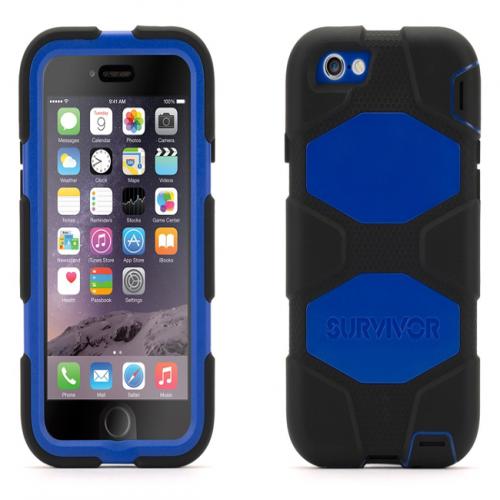 Griffin Survivor All-Terrain for iPhone 6 Black Blue