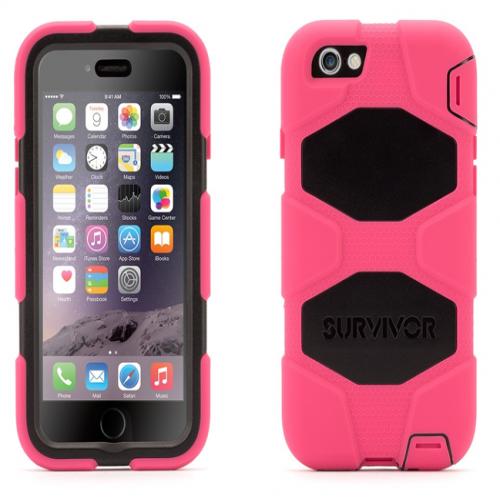 Griffin Survivor All-Terrain for iPhone 6 Pink Black