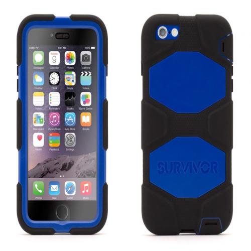 Griffin Survivor All-Terrain for iPhone 6 Plus Black Blue