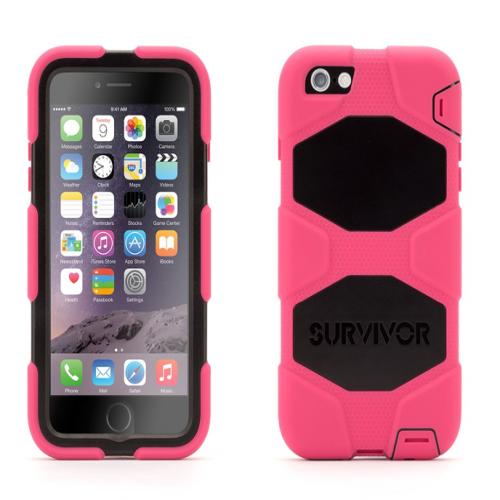 Griffin Survivor All-Terrain for iPhone 6 Plus Pink Black