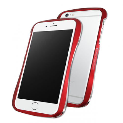 Draco 6 Deff Cleave Japan Aluminum Bumper for iPhone 6 Flare Red