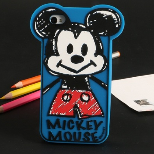 Baby Mickey Silicone Case for iPhone 6