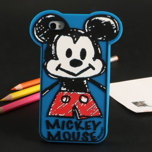 Baby Mickey Silicone Case for iPhone 6 Plus