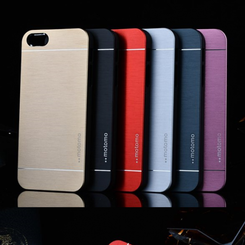 Motomo Japan Brushed Aluminum Alloy Metal Case for iPhone 6