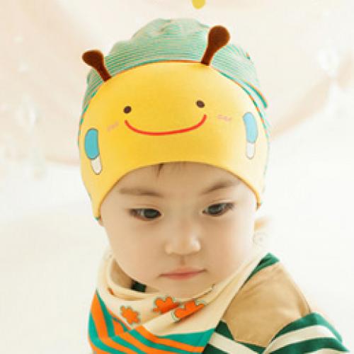 Cute Bubble Bee Style Cotton Hat