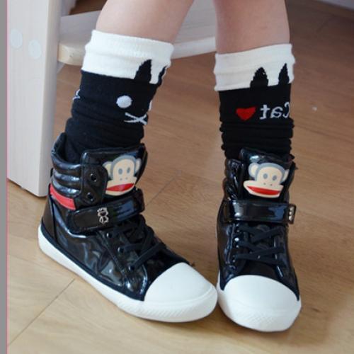 Cute Girls Cat Kitty Cotton Socks Tights Kids 1-8 yrs