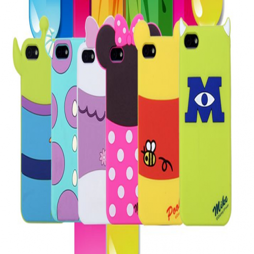 iPhone 5 5S Disney Character Monster University Silicone Case