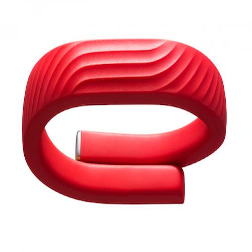 Jawbone UP24 Wireless Activity Tracker Wristband Red Small