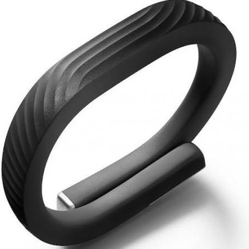 Jawbone UP24 Wireless Activity Tracker Wristband Black Onyx Small