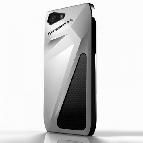 CaseMachine Sesto for iPhone 5 5s Silver