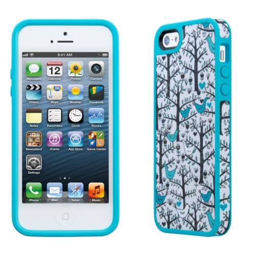 FabShell for iPhone 5 - LoveBirds Peacock