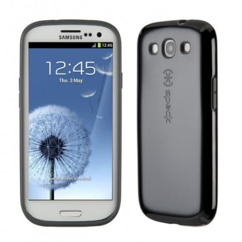 Speck Candyshell for Samsung Galaxy S III S3 - Black / Dark Grey
