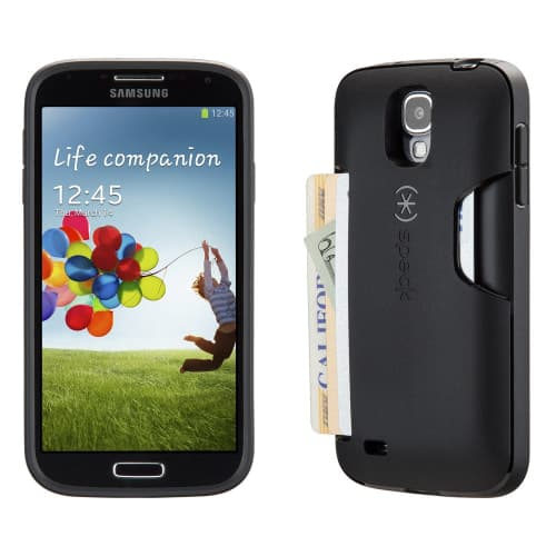Speck SmartFlex Card Black Case for Galaxy S4