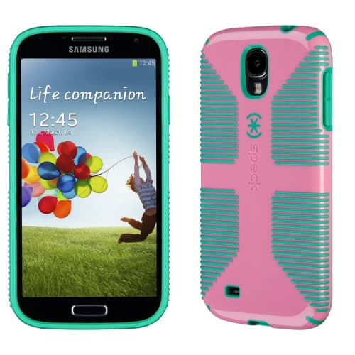 Speck CandyShell Grip for Galaxy S4 Flamingo Malachite