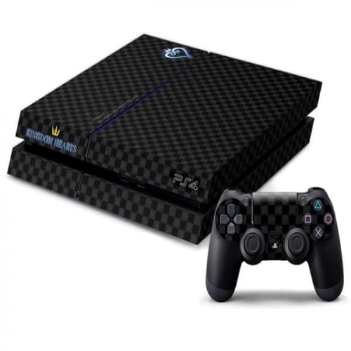 PS4 Kingdom Hearts Decal Skin for Console and Controller