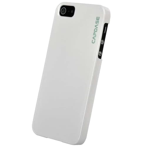 CAPDASE Karapace White Jacket-Pearl (with stand) for iPhone 5