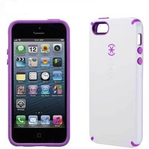 Candyshell Protective Case for iPhone 6 Plus White Purple