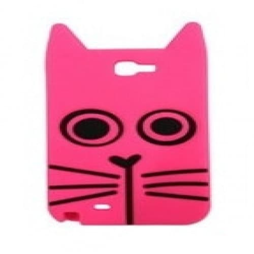 Marc Jacobs Galaxy Note 2 Case Rue the Cat Pink