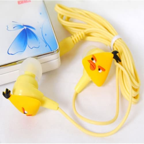 Angry Birds Headphones - Yellow Bird