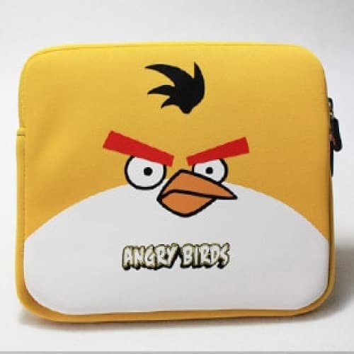 Yellow Bird Neoprene iPad Sleeve