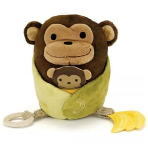 Skip Hop Hug & Hide Activity Toys-Monkey