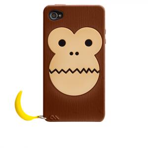 Case-Mate Bubbles Monkey iPhone 4 Case