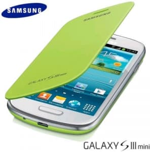 Samsung Mini Flip Cover Mint Green Galaxy S3