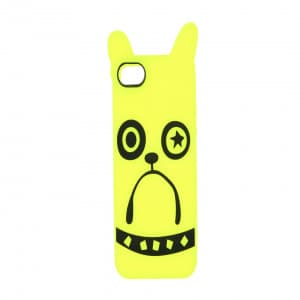 Marc Jacobs Pickles the Bulldog Fluro Yellow iPhone 5 Case
