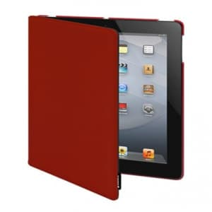 Switcheasy Canvas Smart Cover Function for the New iPad 3 & iPad 2 Red