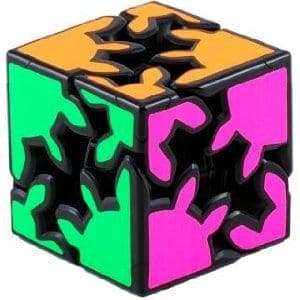 Gear Shift Cube - Meffert's Anisotropic Rotational Brain Teaser Puzzle