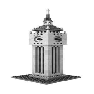 Loz Nano Block Architecture Series The Big Ben Clock Tower