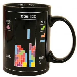 Tetris Temperature Mug
