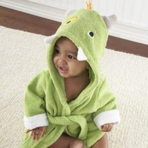 Baby Aspen My Little Monster Hooded Spa Robe