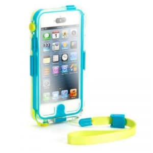 Griffin Survivor + Catalyst Waterproof Case for iPhone 5 5S Blue and Yellow