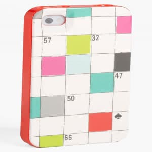 Kate Spade New York Crossword Puzzle iPhone 5 5S Case