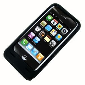 iPhone Solar Charging Silicone Case for iPhone 3G & 3GS
