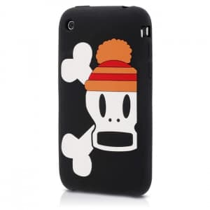 Paul Frank Beanie Skurvy Silicone Case for iPhone 3G/3GS
