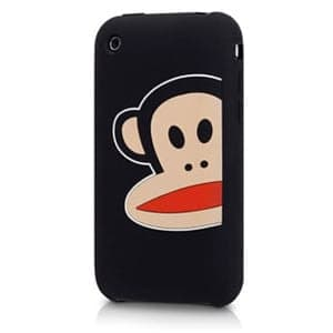 Paul Frank Zoom Julius Black Silicone Case for iPhone 3G/3GS