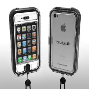 Griffin Survivor EscapeCapsule Waterproof Stealth Black iPhone 4/4S