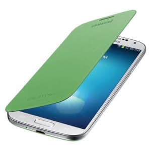 Samsung Galaxy S4 Green Flip Cover