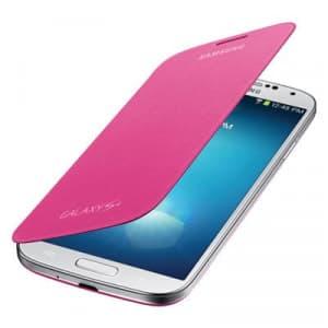 Samsung Galaxy S4 Pink Flip Cover
