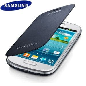 Samsung Mini Flip Cover Pebble Blue Galaxy S3