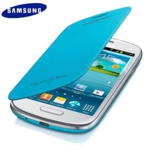 Samsung Mini Flip Cover Light Blue Galaxy S3