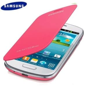 Samsung Mini Flip Cover Pink Galaxy S3