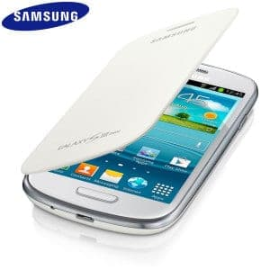 Samsung Mini Flip Cover White Galaxy S3