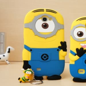 3D One Eye Minion Despicable Me Case for Galaxy Note 2